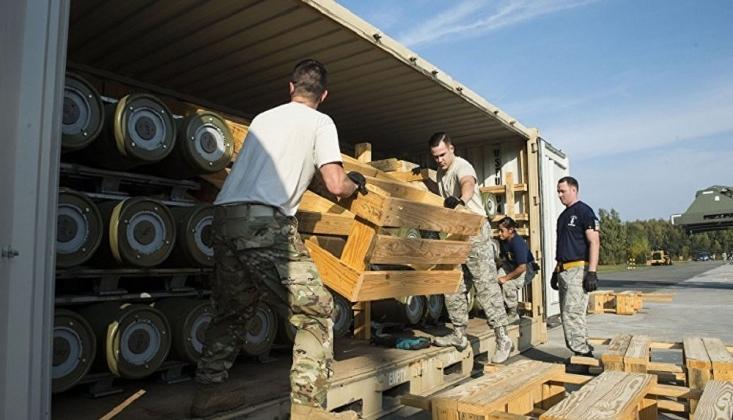 ABD, Suriye'ye 20 TIR Silah Gönderdi