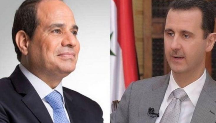 Kahire, Sisi ile Esad Arasında İlk Diyaloga Hazırlanıyor