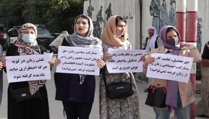 Afgan Kadınlardan Taliban'a: Bizi Hükümetinize Dahil Edin