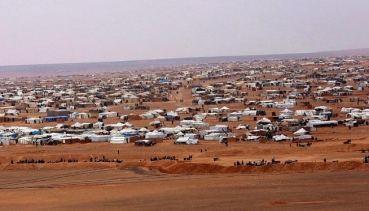 BM Yardımları Rakban Kampına Ulaştı