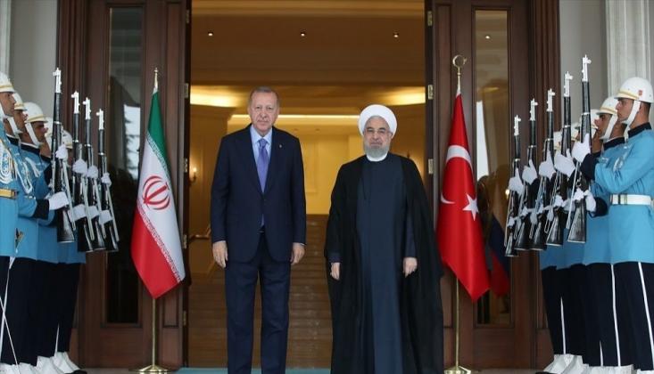 Erdoğan ve Ruhani Baş Başa Görüşüyor