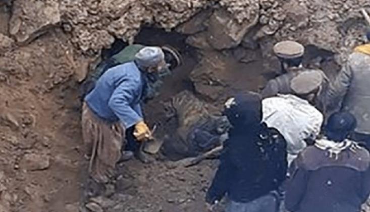 Afganistan'da Altın Madeni Çöktü