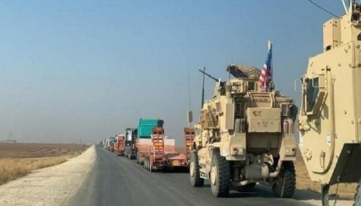 ABD Askeri Konvoyu Suriye'ye Girdi