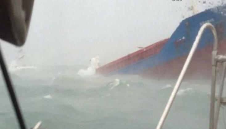 Bartın'da Rus Gemisi Battı