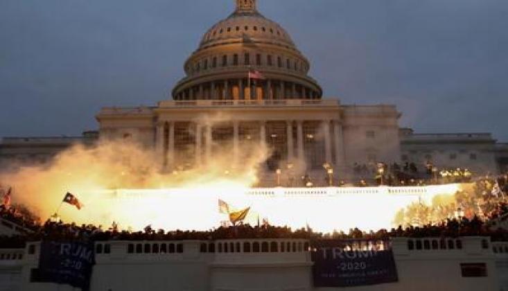 ABD Kongresinde Çatışma! Kongre Binası Kapatıldı