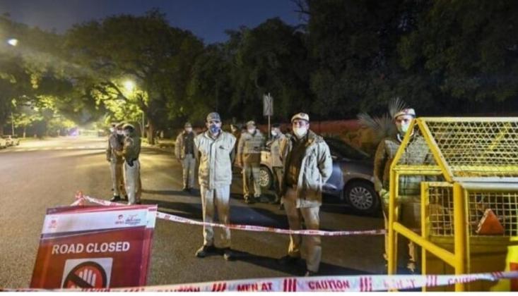 Hindistan'da İsrail Büyükelçiliği Yakınında Patlama