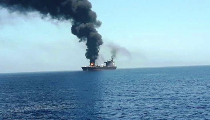 İşgal Rejimi Gemisi Saldırıya Uğradı
