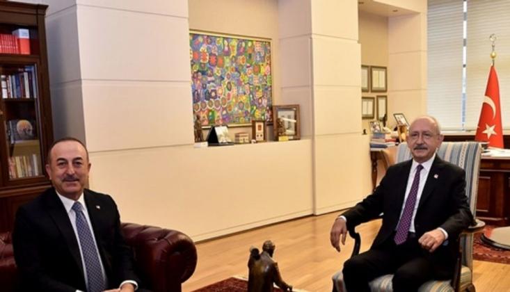 Çavuşoğlu'ndan Kılıçdaroğlu'na Tezkere Ziyareti