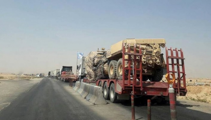 ABD'den Irak'a Zırhlı Araç Sevkiyatı