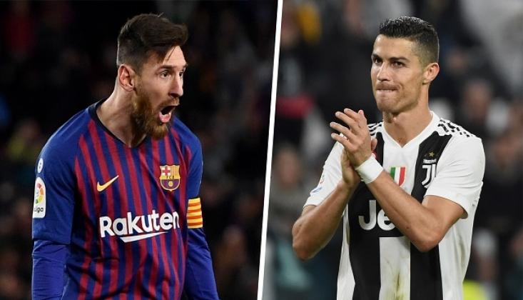 Lionel Messi'den Yeni Bir Rekor! Cristiano Ronaldo'yu Geçti