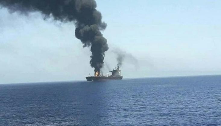 Hint Okyanusu'nda İsrail'e Ait Gemi Vuruldu