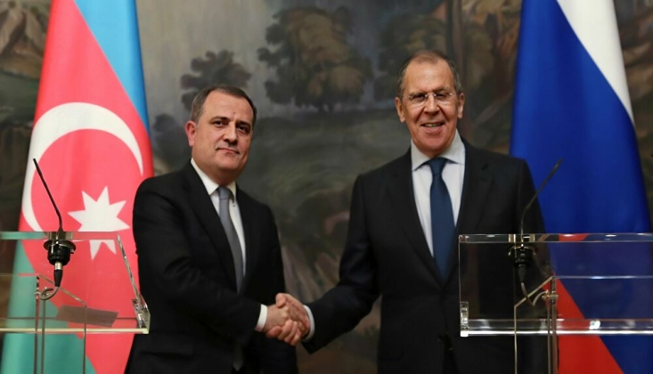 Lavrov ve Bayramov, Dağlık Karabağ'ı Görüştü