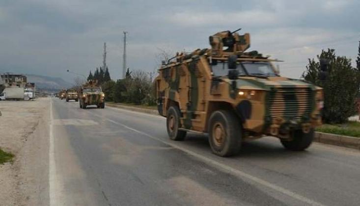 Hatay-Suriye Sınır Hattına Askeri Sevkiyat!