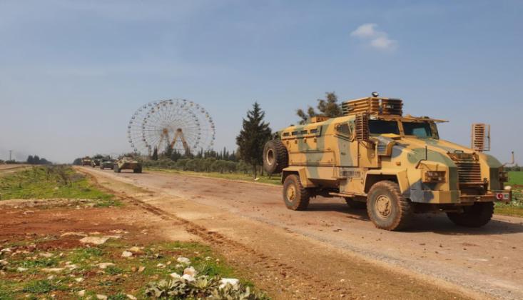İdlib'deki Devriye Sırasında 2 Türk Askeri Yaralandı