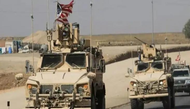 ABD Askeri Konvoyu Irak'tan Suriye'ye Girdi