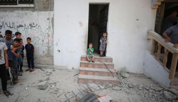 İşgalci İsrail Gazze'ye Yardım Sevkiyatını Engelledi
