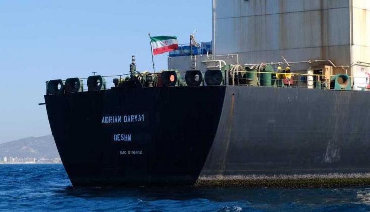 İran Akaryakıt Gemisi Suriye Karasularında