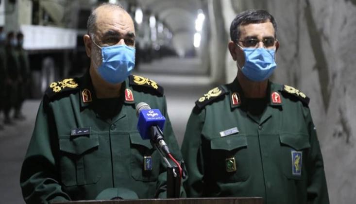 İran Yeraltı Füze Üsslerine Bir Yenisini Daha Ekledi +FOTO