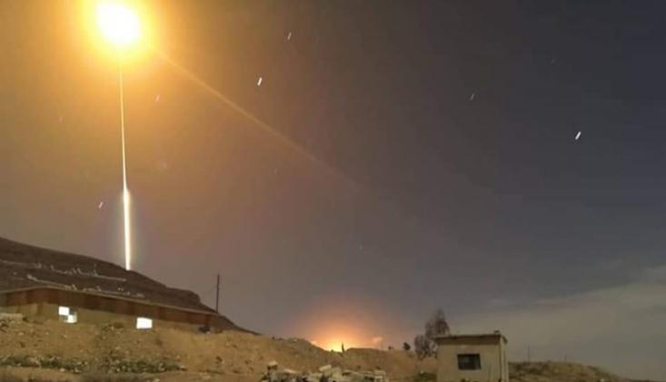 Suriye Hava Savunması Düşman Saldırılarına Karşı Teyakkuzda