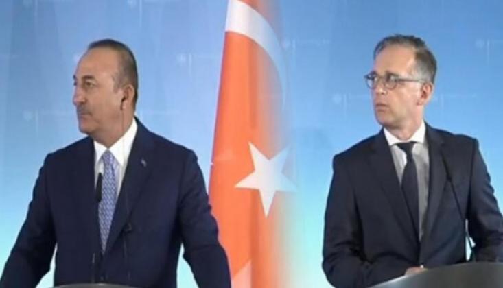 Çavuşoğlu ile Alman Mevkidaşından Ortak Basın Açıklaması