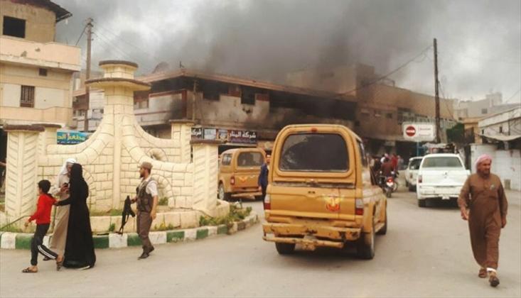 Halep'in Kuzeyinde Patlama