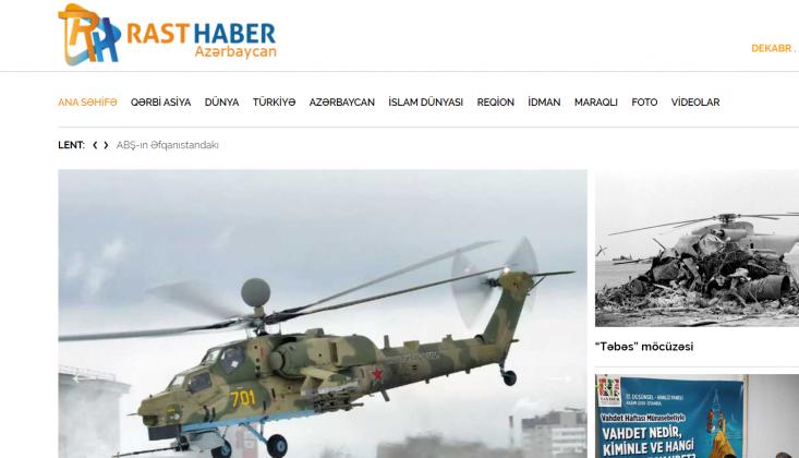 Rasthaber  Azerice Yayınına Başladı