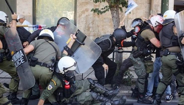 Yunanistan'da Sokaklar Yine Karıştı!