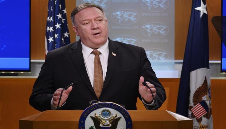 Pompeo: İran Yaptırımlarının Kalkmasına İzin Vermeyeceğiz
