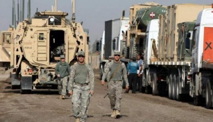 ABD'nin Altıncı Askeri Konvoyu Irak'ta Hedef Alındı