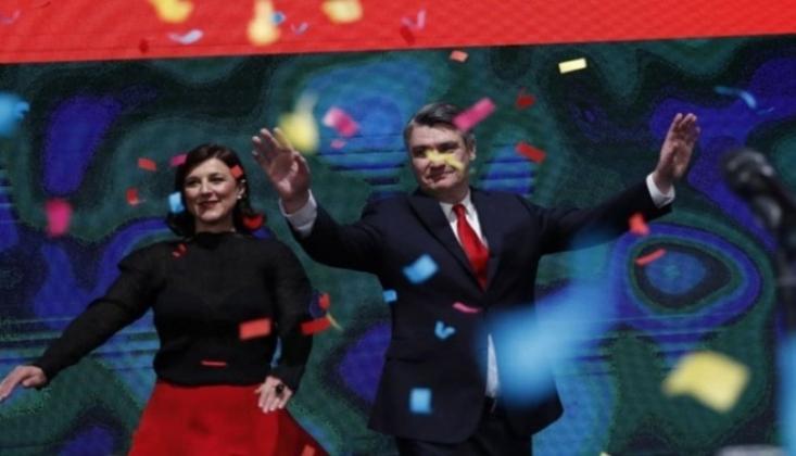 Hırvatistan'ın Yeni Cumhurbaşkanı Milanovic Oldu