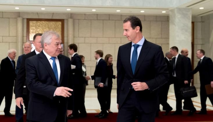 Beşar Esad, Putin'in Özel Temsilcisi İle Görüştü