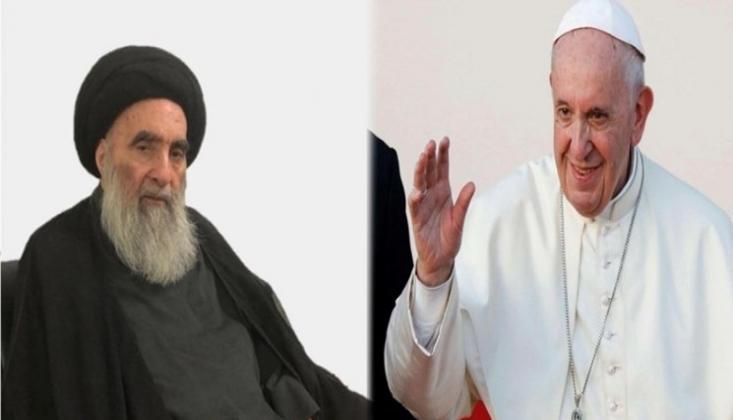 Papa, Ayetullah Sistani ile Görüşecek