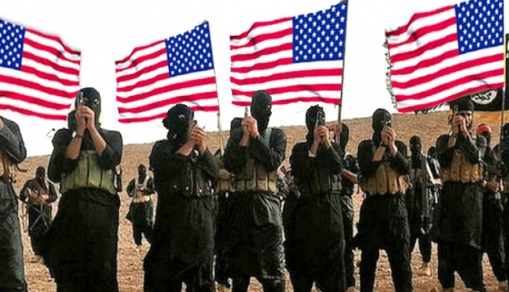 ABD Afganistan'da IŞİD'i Destekliyor
