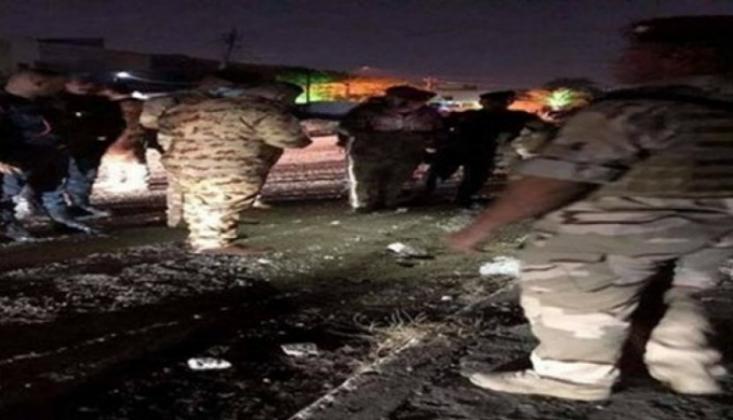 Bağdat Havaalanına Roketli Saldırı