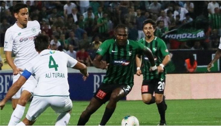 Denizlispor - Konyaspor Maç Sonucu