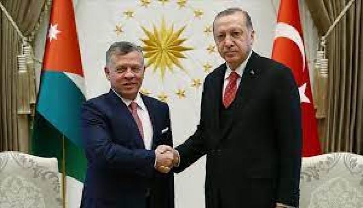 Erdoğan, Ürdün Kralı 2. Abdullah ile Telefonda Görüştü