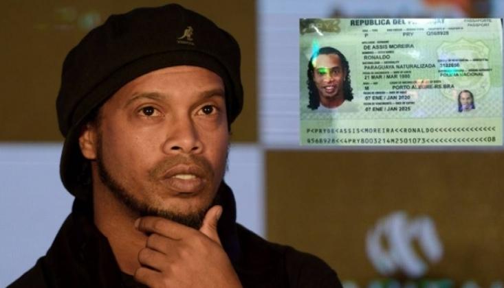 Ronaldinho Gözaltına Alındı!