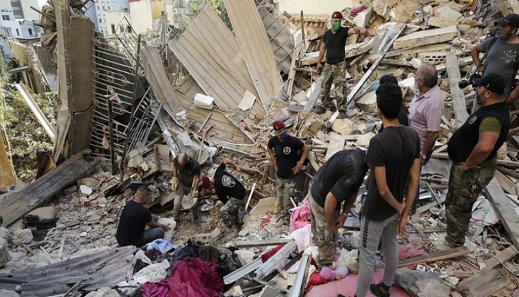 """Beyrut Patlamasının Terörist Bir Saldırı Olduğuna Dair İhtimal Var"""