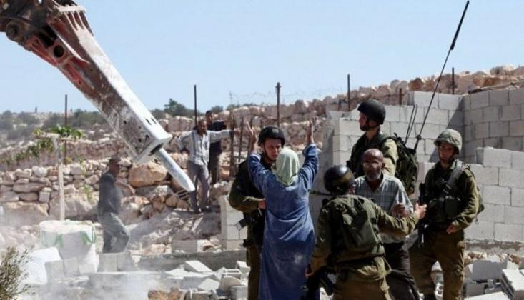 İşgalci İsrail Filistinlilere Ait 166 Bin Evi Yıktı