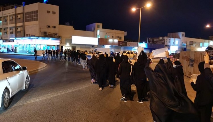 Bahreyn'de Gösteriler Devam Ediyor/Video