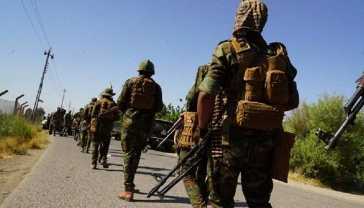 Haşdi Şabi'den Arabistan Sınırında Operasyon