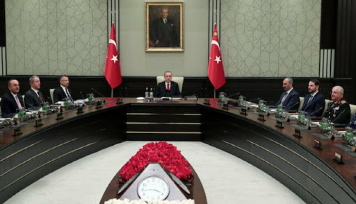 Güvenlik Zirvesi Cumhurbaşkanı Erdoğan Başkanlığında Toplandı