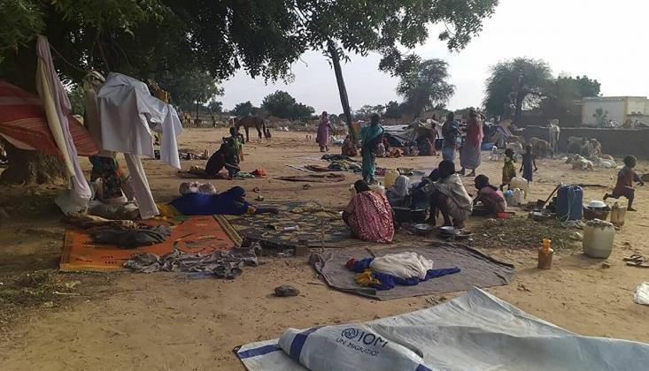 Sudan'ın Batı Darfur Eyaletindeki Çatışmalarda 40 Bin Kişi Yerinden Edildi