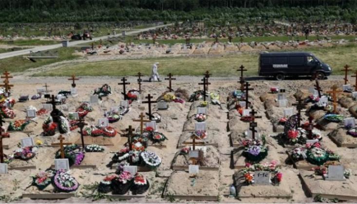 Rusya'da En Yüksek Günlük Ölüm Sayısı Görüldü