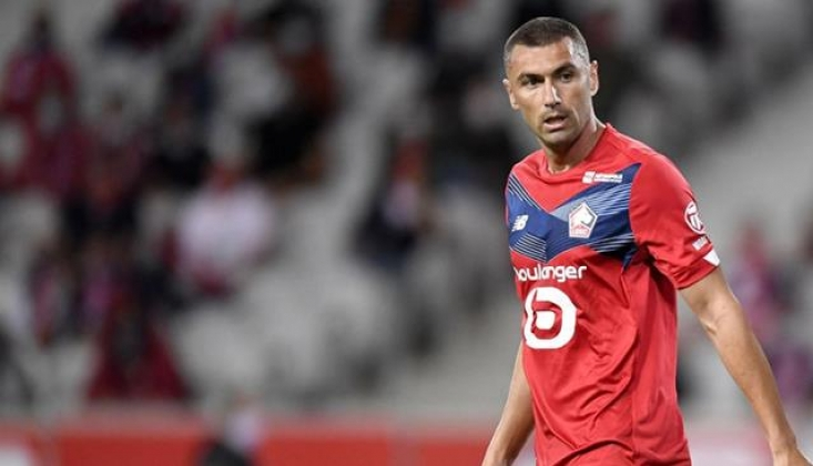 Burak Yılmaz, Lille'i Şampiyonluktan Edebilir
