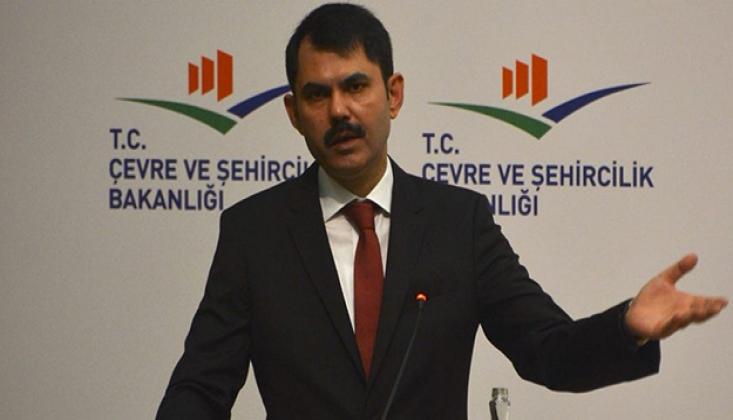 Bakan Murat Kurum'dan Kanal İstanbul İtirafı