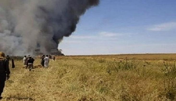 Trump Suriye'deki Tarım Arazilerin Yakılmasını Emretti
