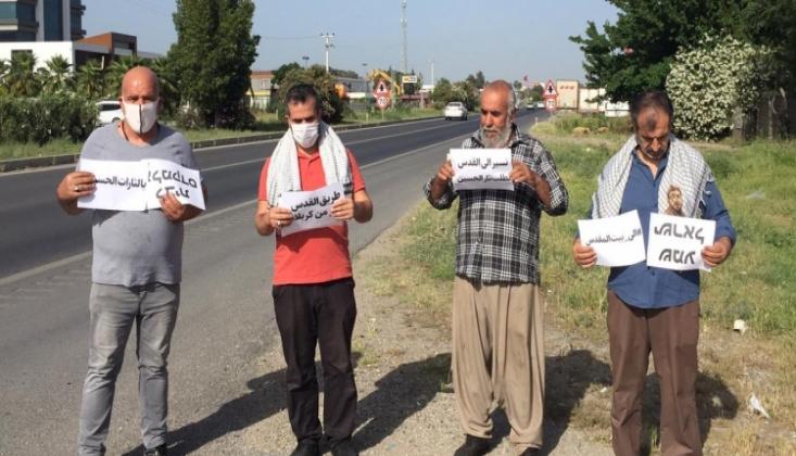 Türkiye'de 'Kudüs'e Doğru Yürüyüş' ve Fidan Dikme Etkinliği Düzenlendi