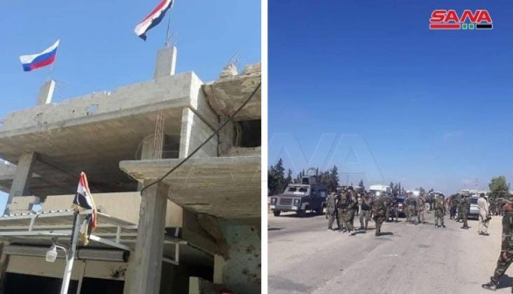 Ordu Birlikleri Dera' el-Beled'e Girdi