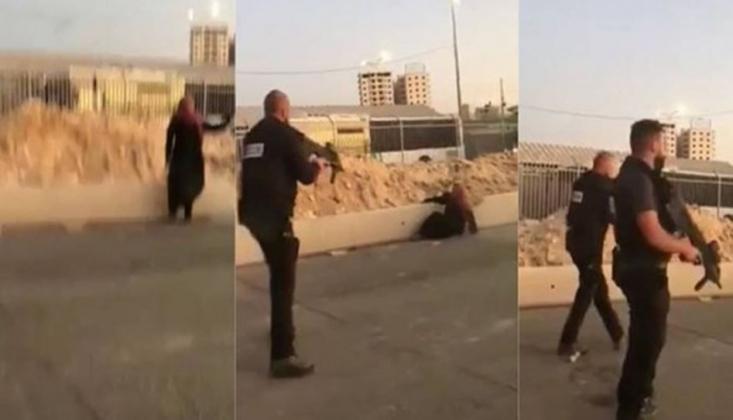 Katil İsrail Güçlerinden Vahşet!